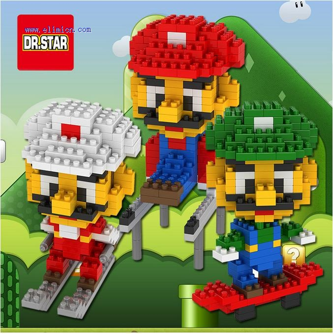 Dr Star Blocks Mario Mini Blocks