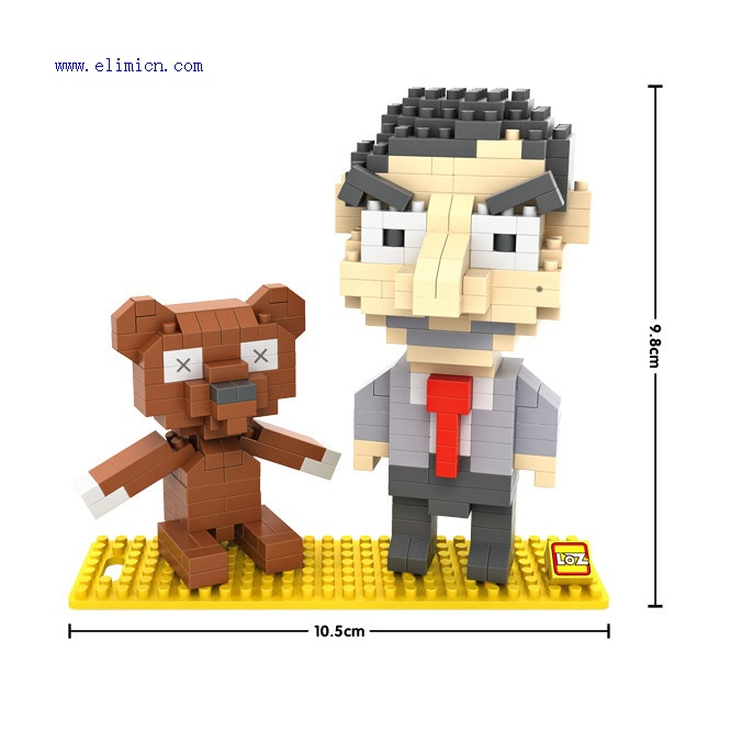 Loz blocks mr Bean 9507
