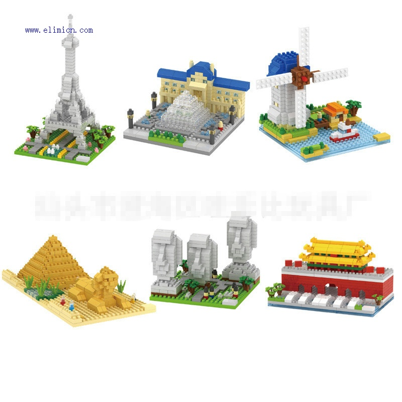 GEM Mini blocks World Famous Architecture series 816