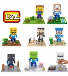 LOZ Mini Blocks Minecraft
