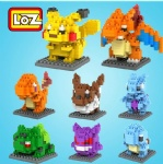LOZ Diamond blocks Pokemon