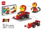 DR STAR 3IN1 DIY Blocks Ironman 539