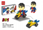 DR STAR 3IN1 DIY Blocks Superman 537