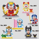 Linkgo DIY Blocks Doraemon 6917-6922