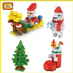 LOZ Diamond Blocks Christmas Series