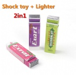 Electric Shock Gum and Lighter 2in1