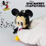 Disney Mickey Mouse Led Keychain