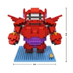 LOZ Big Hero 6 Blocks 9601