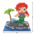 LOZ Blocks Mermaid 9499