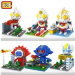 LOZ Mini blocks Ultraman 9640-9645